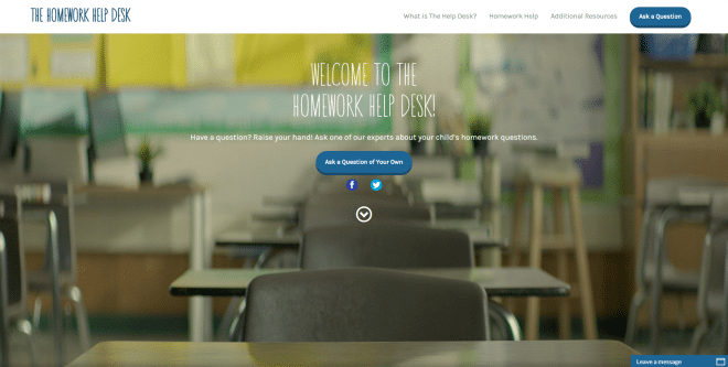 Get Schooled Homework Help Desk