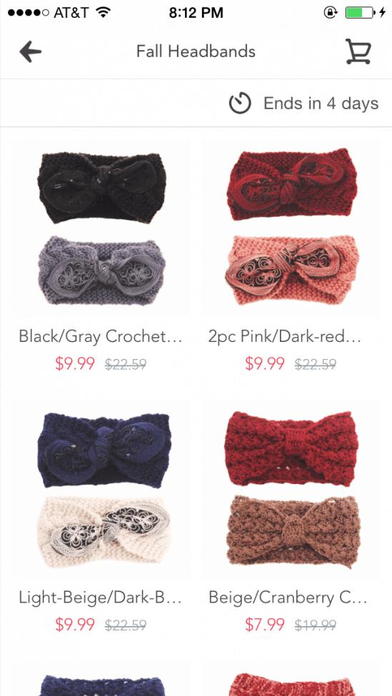Fall Headbands on Sale