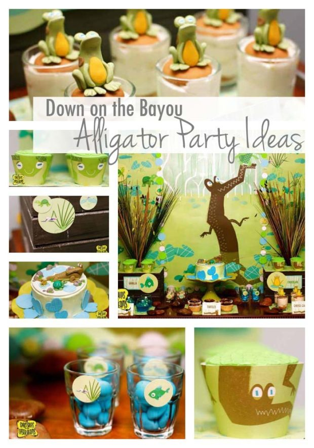 Alligator Party Ideas Bayou Bash Spaceships And Laser