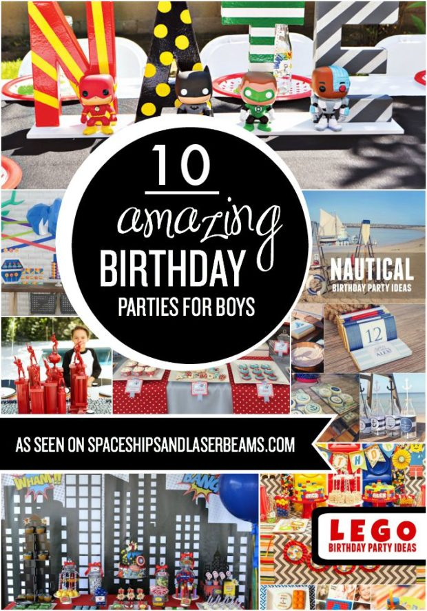 10 Amazing Birthday Parties for Boys - Spaceships and ...