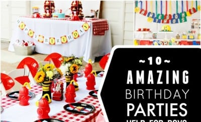 10 Amazing Boy Birthday Party Ideas - Spaceships and Laser ...