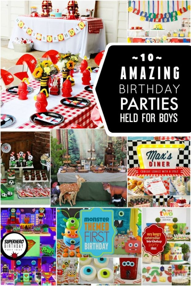 10 Amazing Boy Birthday Party Ideas | Spaceships and Laser ...