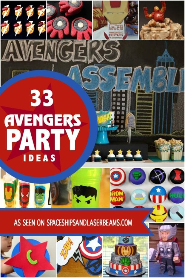 33 Of The Best Avengers Birthday Party Ideas On The Planet