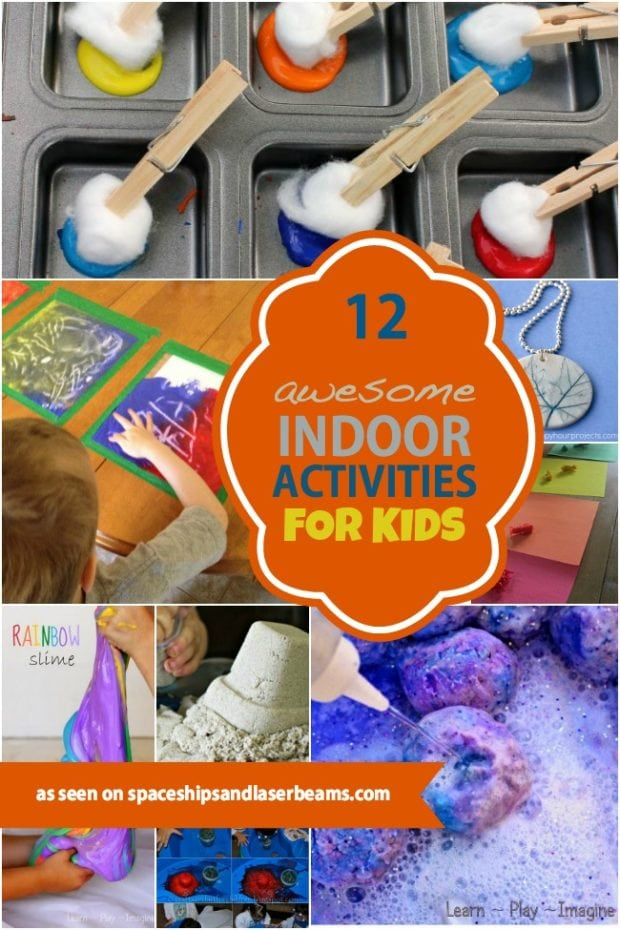 12 awesome indoor activities for kids spaceships and