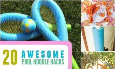 Awesome Pool Noodle Hacks