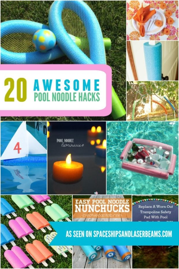 Awesome Pool Noodle Hacks