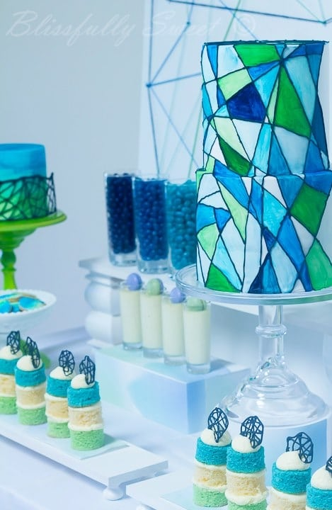 Boy S First Holy Communion Dessert Table Spaceships And