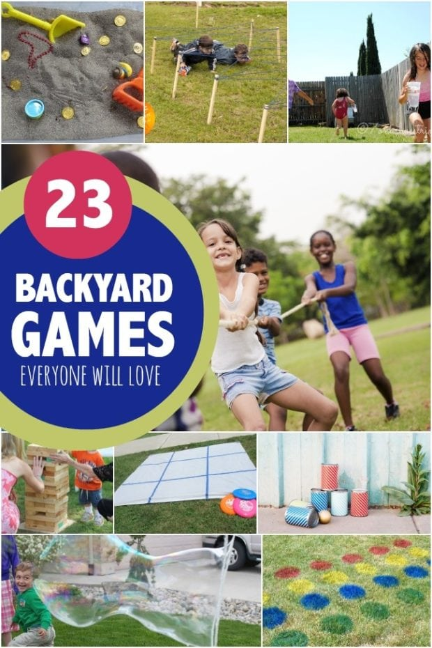 Backyard Party Game Ideasjpg