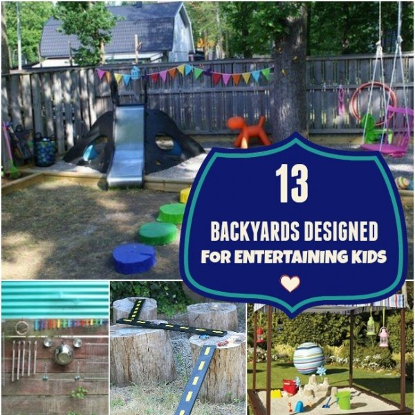 Backyard Bayou Union City Ca: 13 Backyards Designed For Entertaining Kids