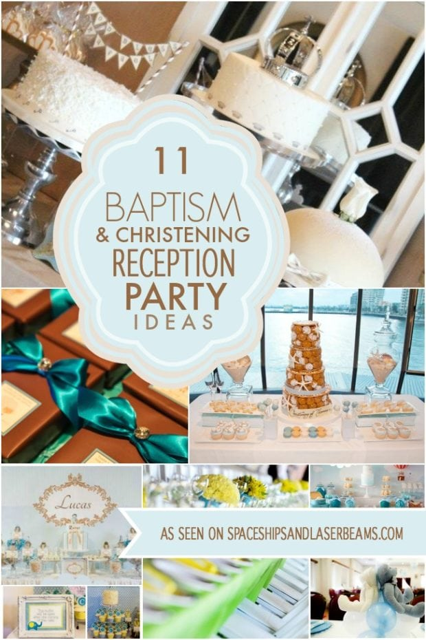 Baptism and Christening Reception Ideas