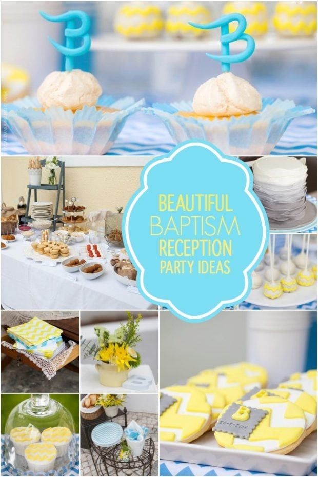 Beautiful Baby Baptism Reception Party Ideas Spaceships