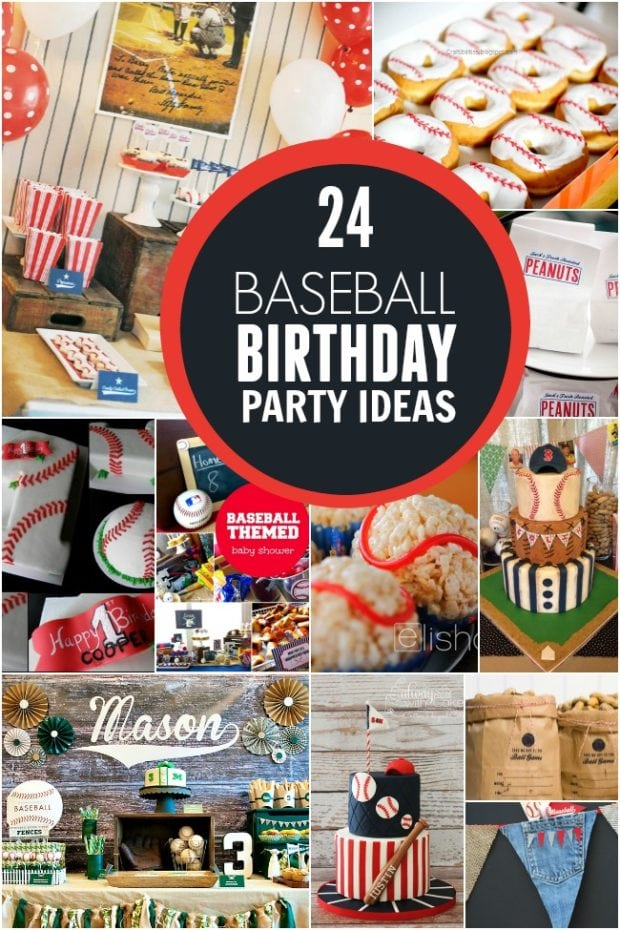 24 Baseball Birthday Party Ideas Spaceships And Laser Beams