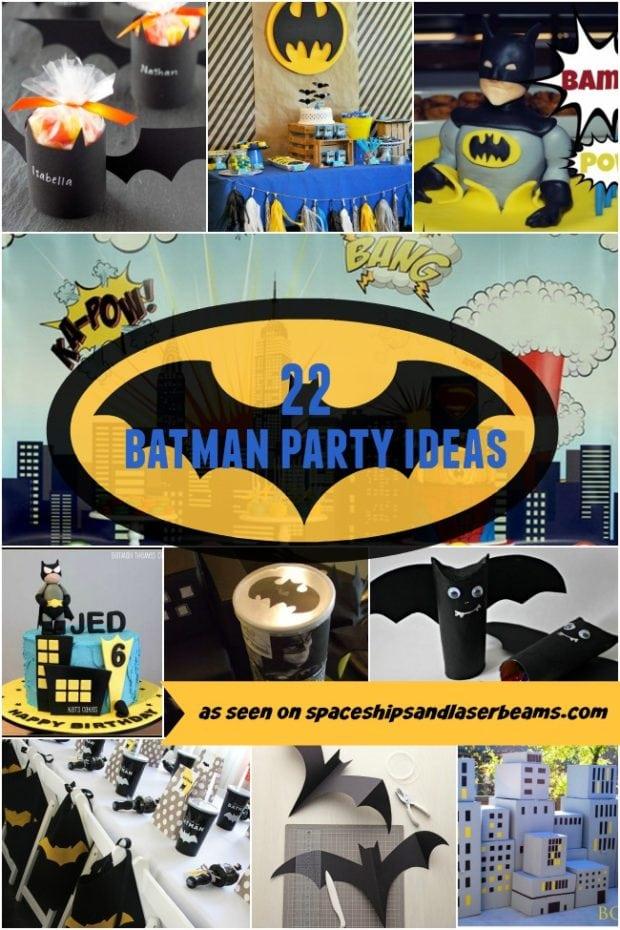 22 Batman Party Ideas Spaceships And Laser Beams