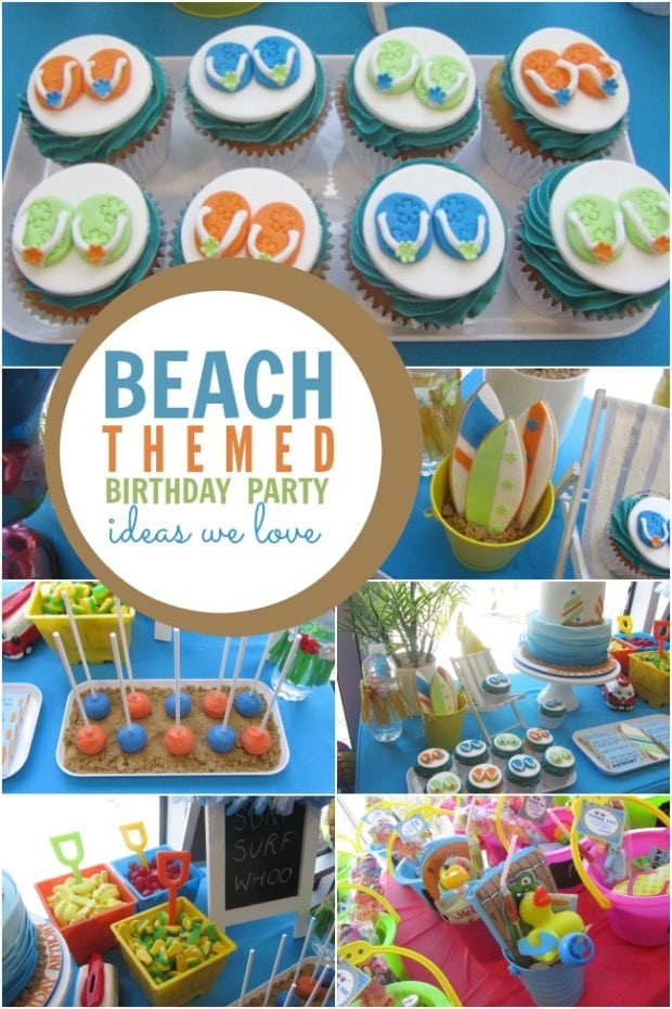 Surf, Sand and Fun: A Boy s Beach Themed Birthday Party  Spaceships ...