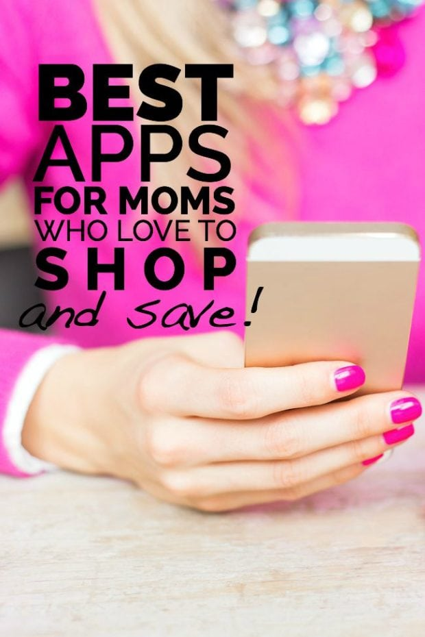 Apps for Moms Who Love to Shop & Save