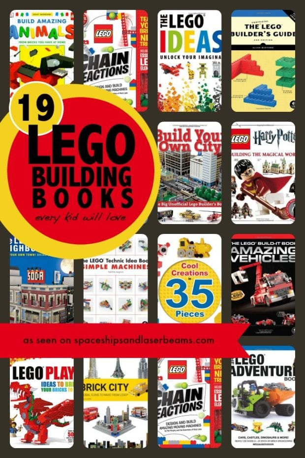 19 Lego Building Books Every Kid Will Love Spaceships
