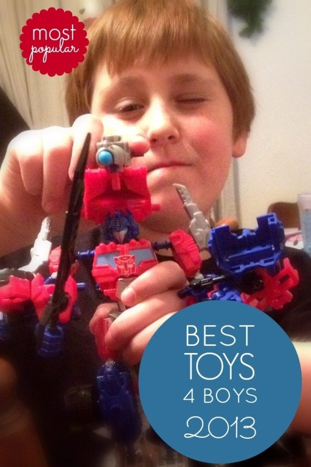 Christmas Toys 2013 : Toys for boys christmas gift idea constructbots