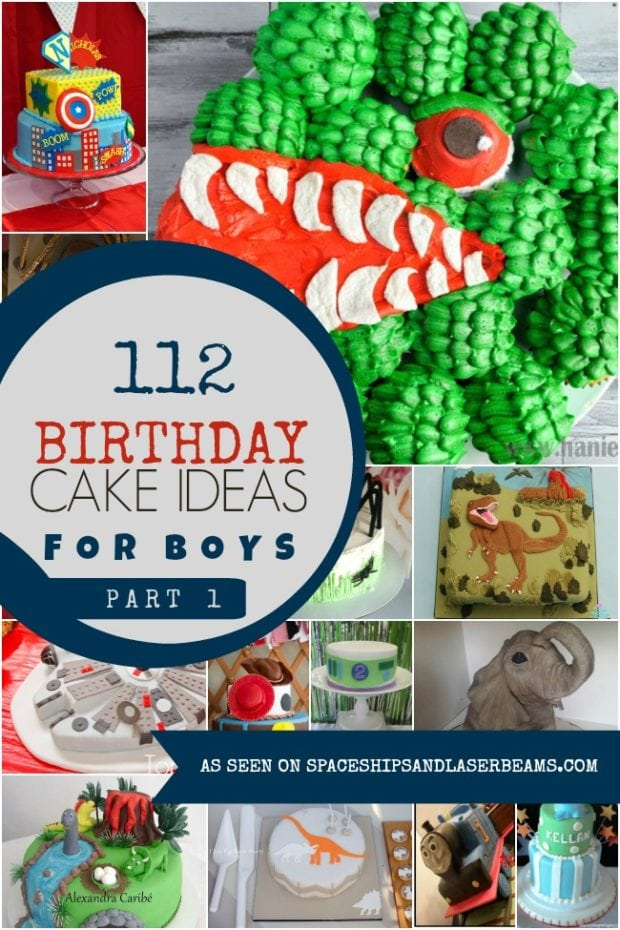 21 Birthday Cake Recipe Ideas Spaceships And Laser Beams