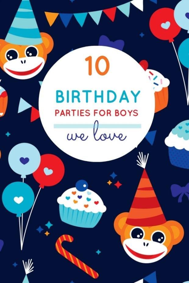 10 Unique Boy Birthday Party Ideas From Last Week