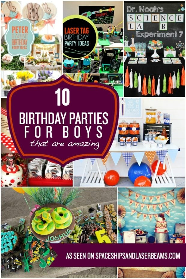 10 Birthday Parties for Boys That are Amazing | Spaceships ...