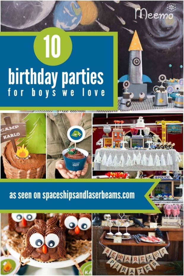 10 Birthday Parties For Boys We Love