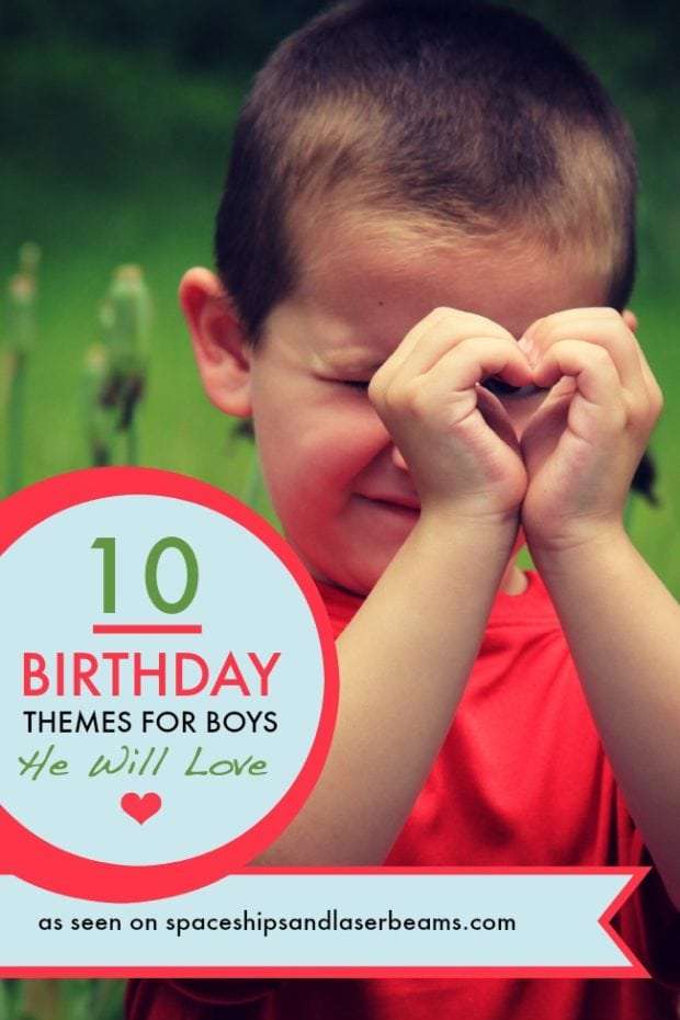 10 Birthday Themes For Boys He Will Love Spaceships And