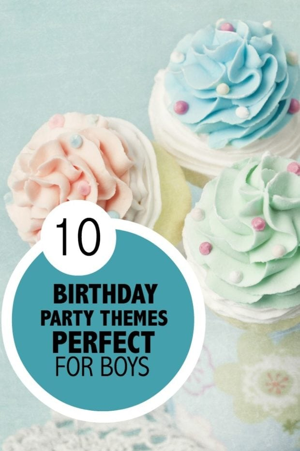 10 Birthday Party Themes Perfect For Boys Spaceships And
