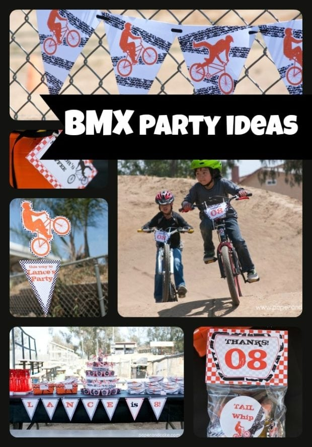 Bmx Bike Birthday Party Ideas Spaceships And Laser Beams