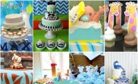 Boy Baby Shower Cake Dessert Ideas