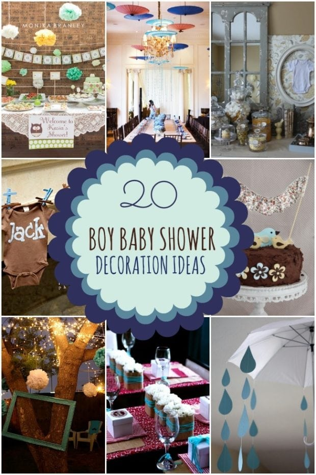 Birthday decoration ideas for baby boy image inspiration for Baby showers decoration