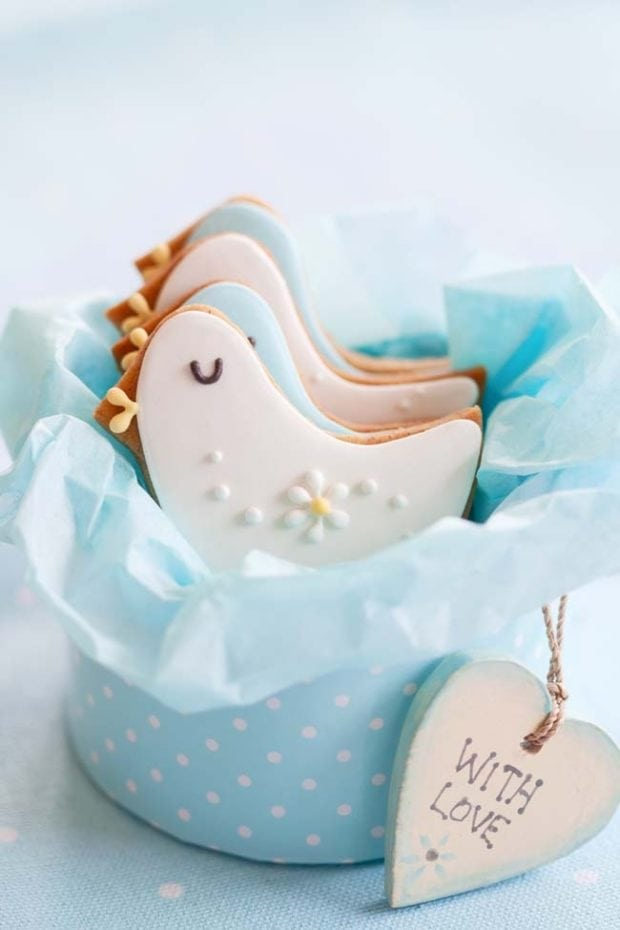 boy baby shower cute cookie ideas spaceships and laser beams