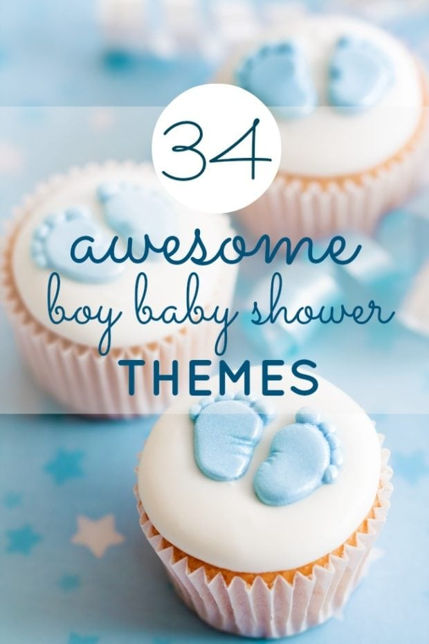 boy baby shower theme
