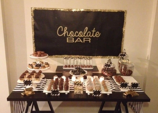 A Chocolates Lover First Birthday Party | Spaceships and ...