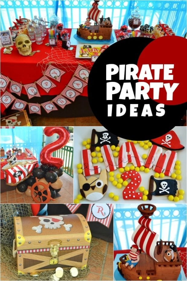 Sweet Pirate Owl Birthday Party Spaceships And Laser Beams
