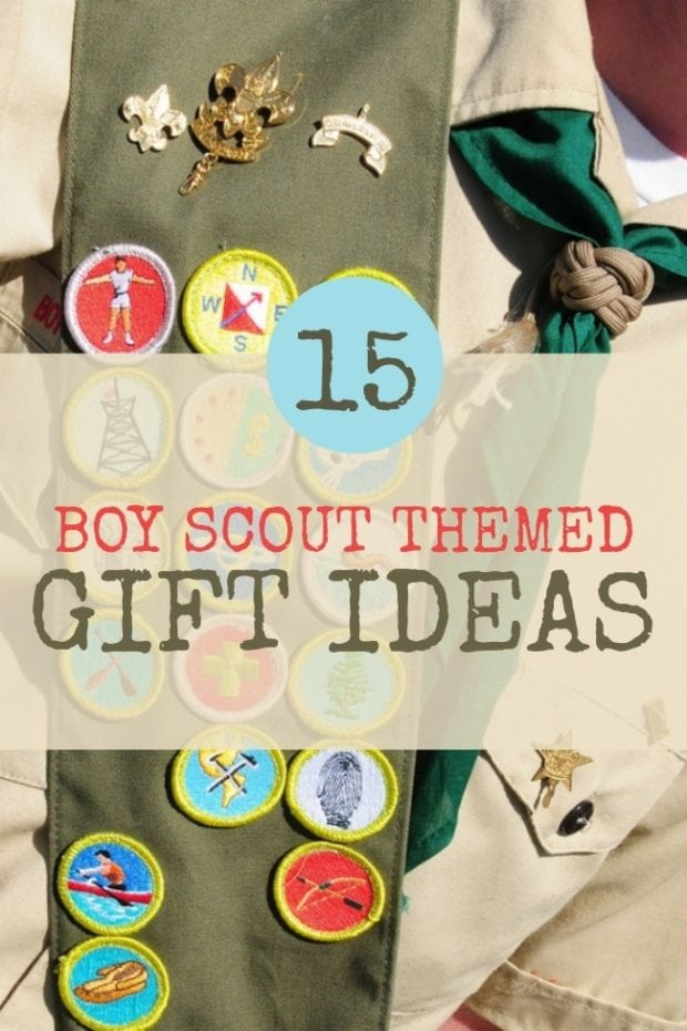 15 Great Boy Scout Themed Gift Ideas | Spaceships and