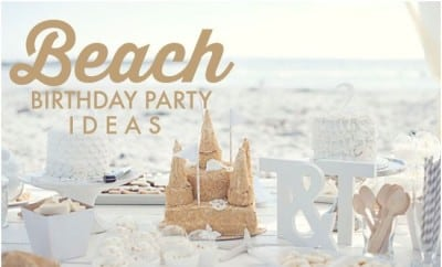 Boy Girl Siblings Beautiful Beach Birthday Party
