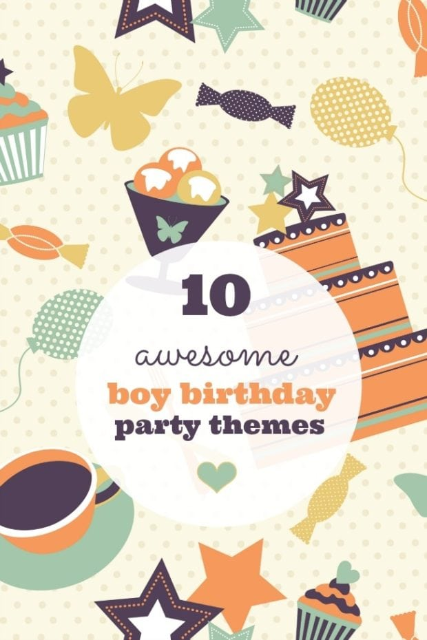 10 Awesome Boy Birthday Party Themes Spaceships And
