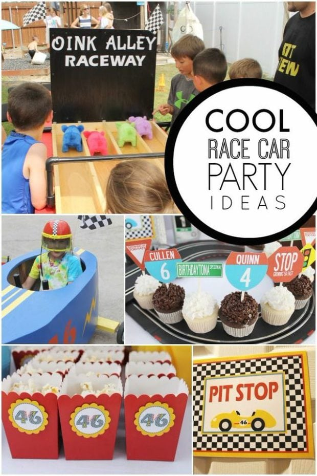 A Boys Car Themed Quot Growing Up Too Fast Quot Joint Birthday