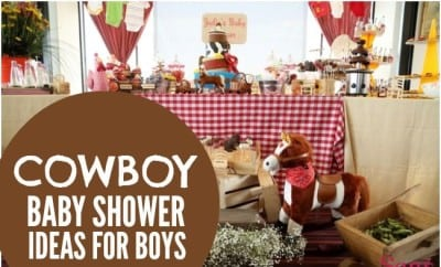 Bouncing Baby Buckaroo Cowboy Themed Baby Shower   Spaceships And Laser  Beams