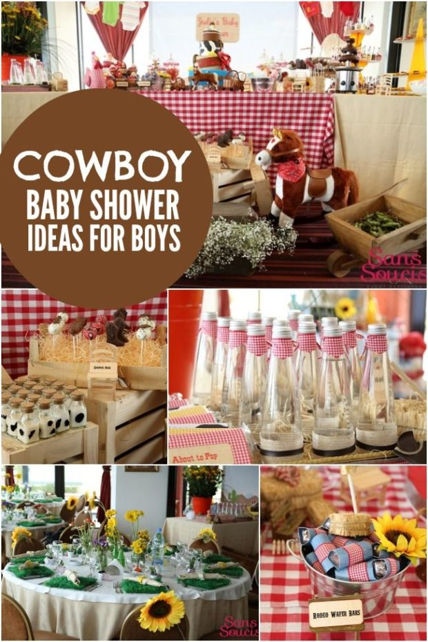 Cowboy Baby Shower Party Supplies – diabetesmang.info
