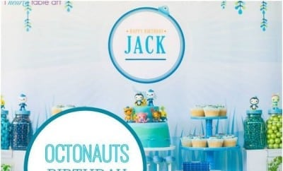A Boys Octonauts Inspired 3rd Birthday Party Spaceships and