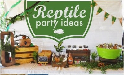 A Creepy Crawly Boy S Reptile Birthday Party Spaceships