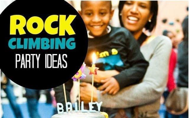 Boys Rock Climbing Birthday Party Ideas