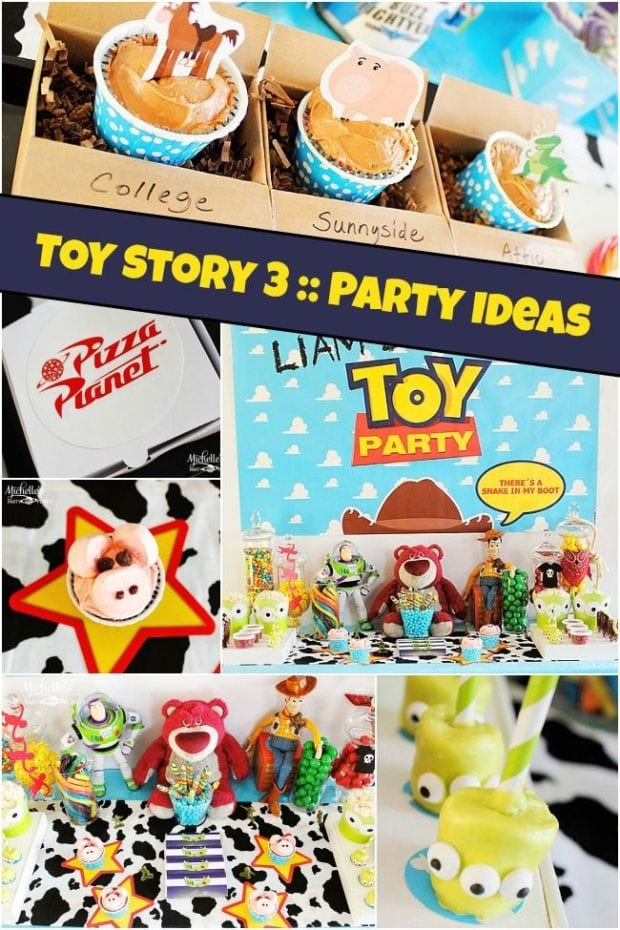 Toy Story Party Games : Toy story party ideas for boys spaceships and laser beams