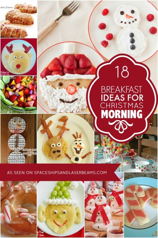 18 Breakfast Ideas for Christmas Morning from Spaceships and Laser Beams