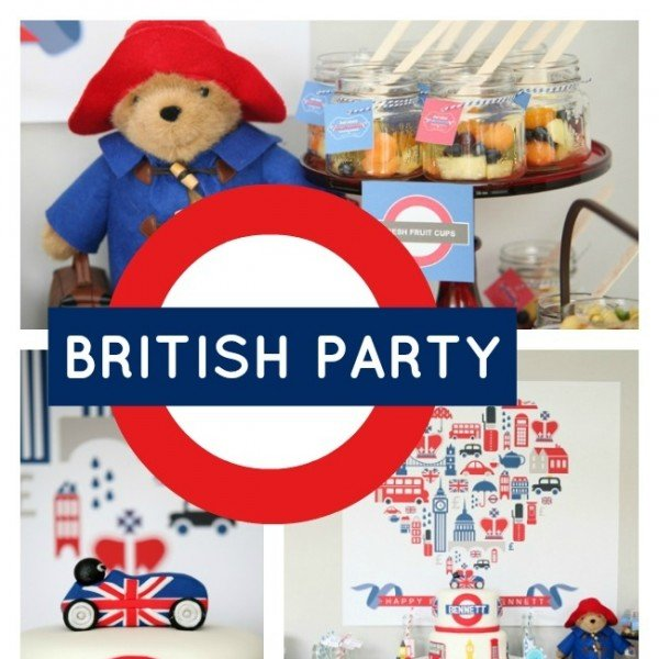 British Birthday Bash Boy Party Ideas Spaceships And