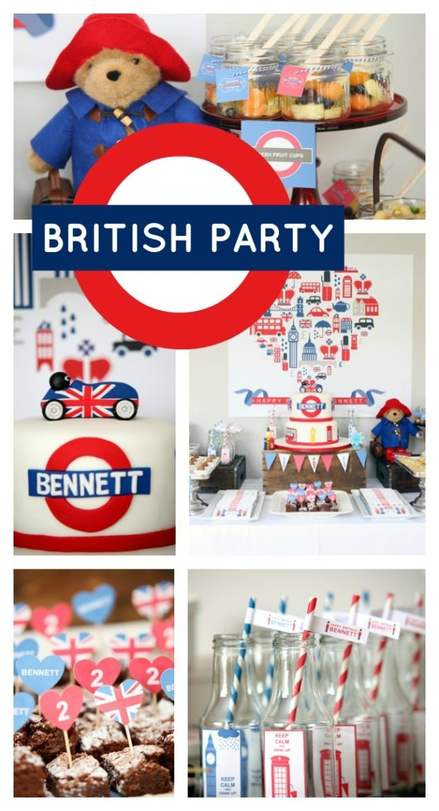 British Birthday Bash Boy Party Ideas Spaceships And