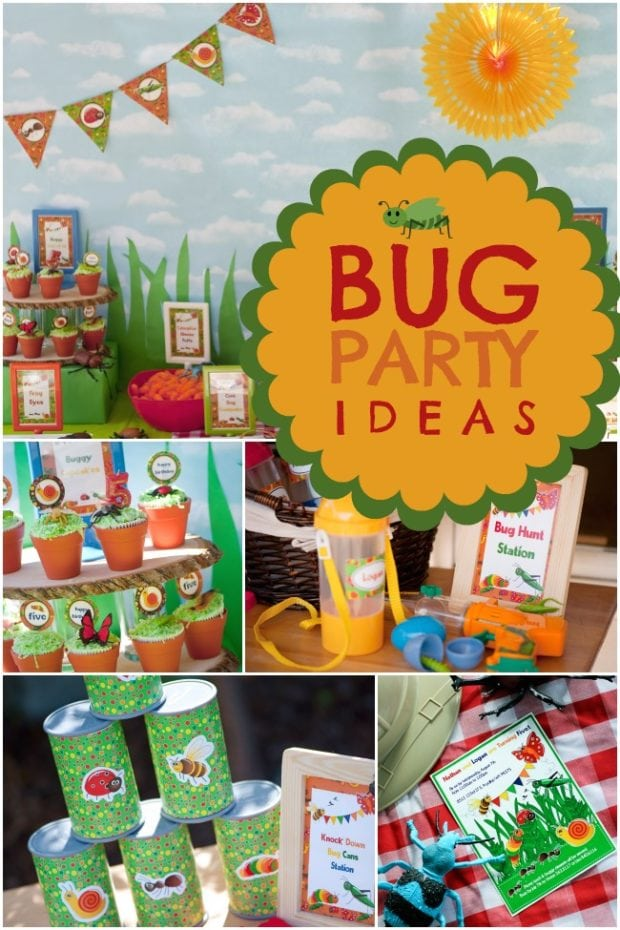 Insect Party Food Ideas