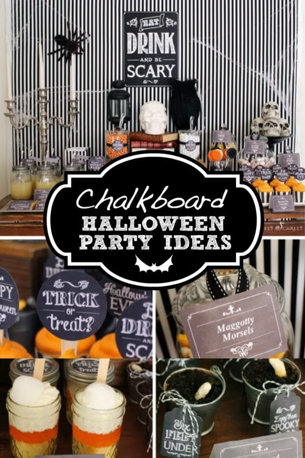 Eat, Drink, and Be Scary Halloween Dessert Table ...