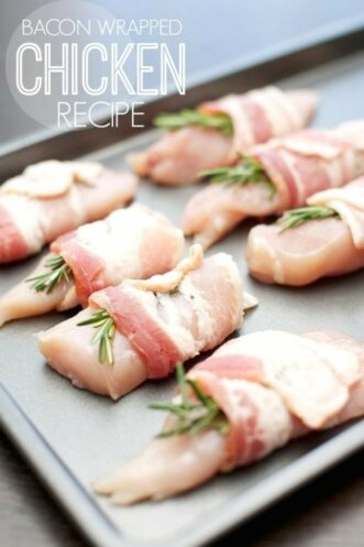 Chicken Wrapped Bacon